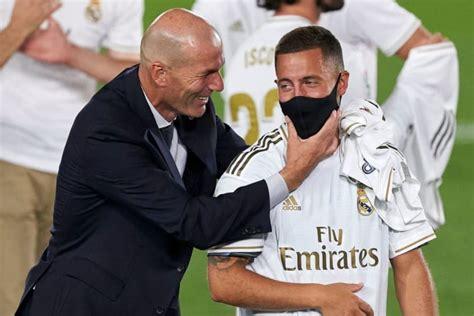 Zinedine Zidane Confirms Eden Hazard's Harm Is 'Worse Than ...