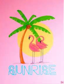 Easy Flamingo Paintings