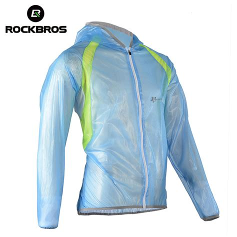 best breathable cycling rain rockbros bicycle bike cycling raincoat breathable