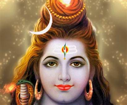 Shiva Lord God Face Animation Peace Vishnu