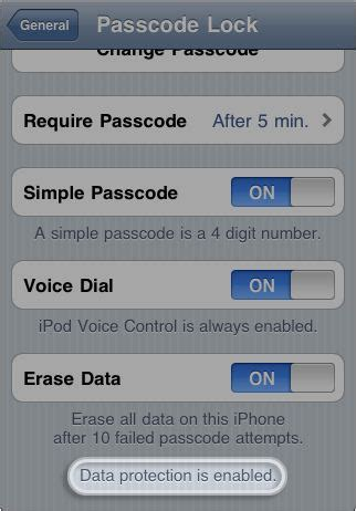 how to encrypt iphone october 2011 inet techie technology