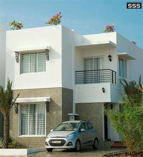 Modern Double Floor Contemporary Beautiful Home Design And