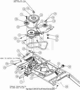 Troy Bilt Tb30r  13cc26jd011   2016  Parts Diagram For Drive