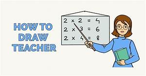 How to Draw a Teacher - Really Easy Drawing Tutorial