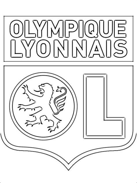 Kleurplaat Logo Frankrijk by Kleurplaat Olympique Lyonnais Logo Gratis Kleurplaten