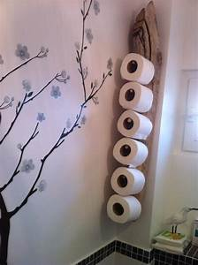 Rangement Papier Toilette Original : porte stock papier wc en bois flott cr ation pour bois flott pinterest papier wc en ~ Teatrodelosmanantiales.com Idées de Décoration