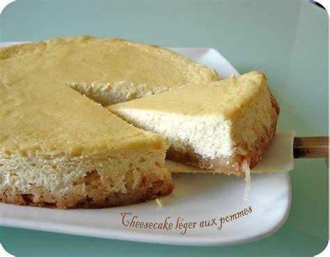 cheesecake l 233 ger aux pommes cuisine et d 233 pendances