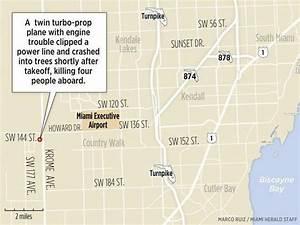 4 killed in plane crash near Kendall airport   Miami ...