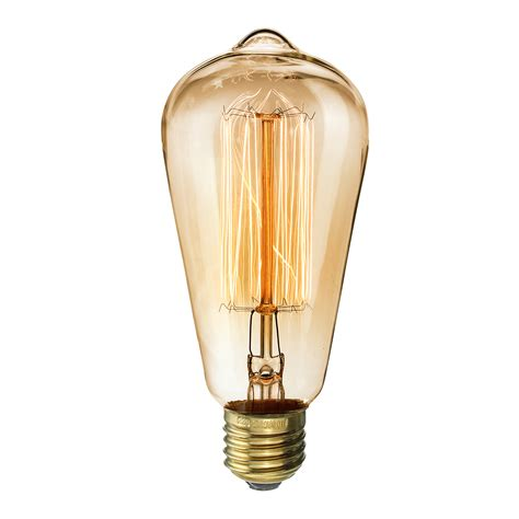 kingso vintage light bulb retro fashioned edison style
