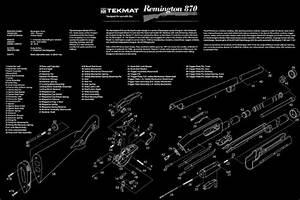 Ultimate Arms Gear The Remington Arms Model 870 Pump Action Shotgun Gunsmith  U0026 Armorer U0026 39 S Large