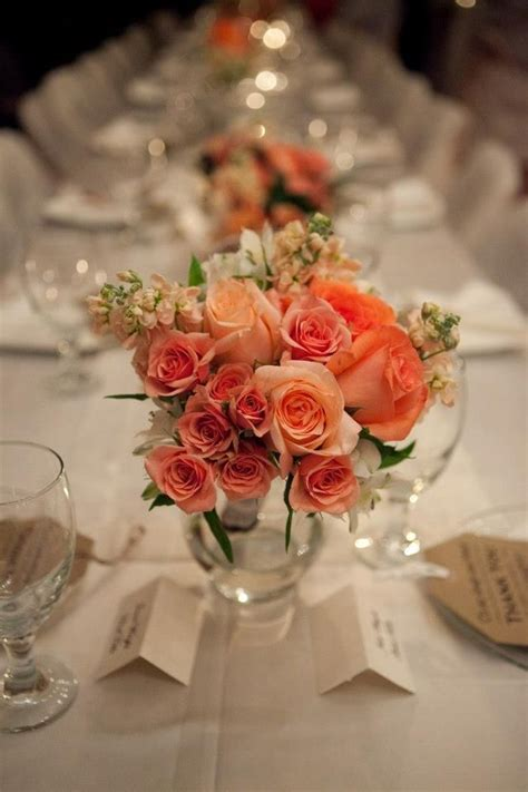 Coral Wedding Tables For Reception Guide