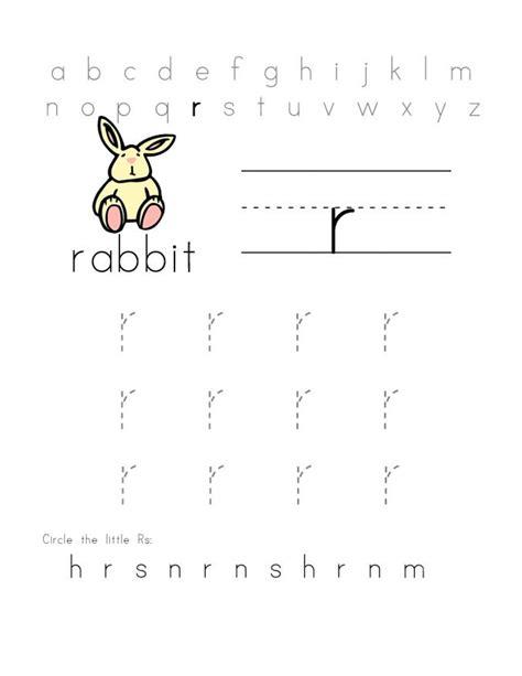 r abc preschool printable worksheets r best free