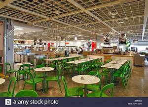 Restaurant Bei Ikea Mbel Lagern In Coventry Stockfoto