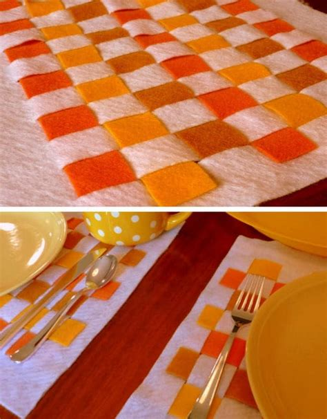 diy placemat ideas    thanksgiving table stand