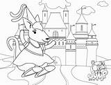 Bouncy Castle Coloring Bounce Template sketch template