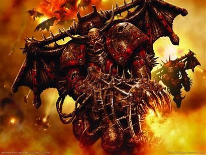 40k War Wallpapers Warhammer Chaos Hammer Epic