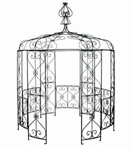 Gloriette En Fer Forgé : fabriant pergola en fer forg tnnelle abris de ~ Premium-room.com Idées de Décoration