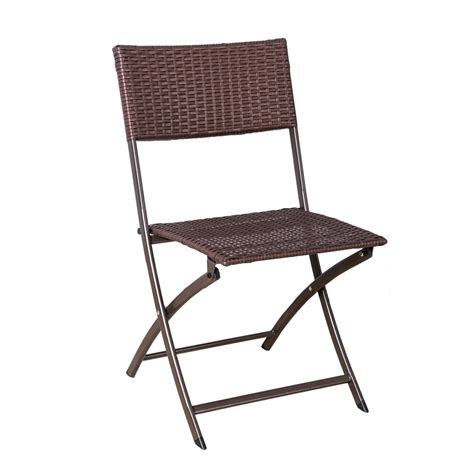 palm springs garden furniture rattan wicker folding bistro