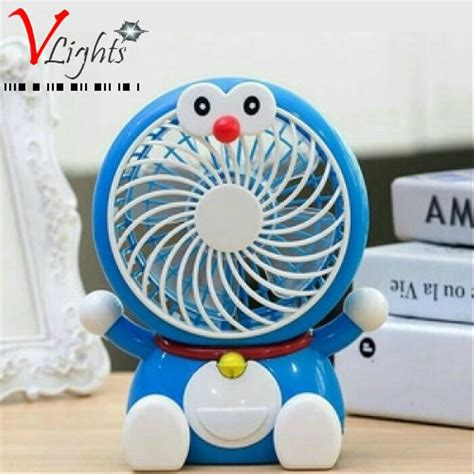 Kipas Angin Mini By Vhivhishop jual kipas angin mini portable usb karakter doraemon di