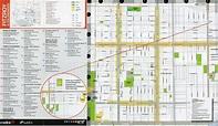 Fitzroy gardens map - Map of Fitzroy Melbourne (Australia)