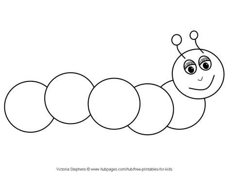 Caterpillar Coloring Pages Free - Natashamillerweb