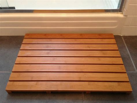 wooden bath mat wooden bath mats are wood shower mats by american floor mats