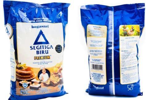 harga tepung segitiga biru  kilo terbaru juli