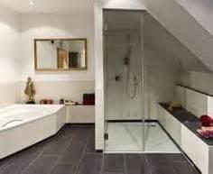 badezimmergestaltung mit dusche planung dusche bei dachschräge bad