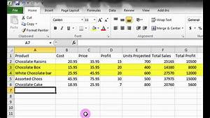 Microsoft Excel Tutorial  A Basic Introduction