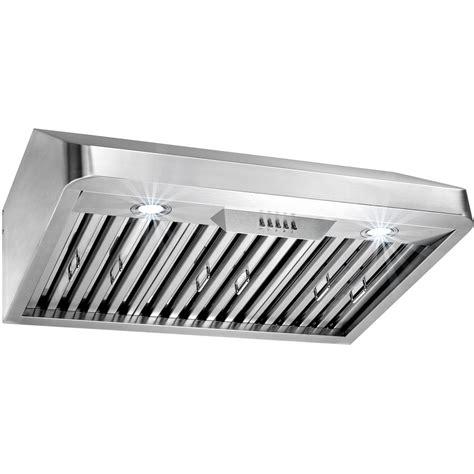 30 stainless steel range hood under cabinet akdy 30 in under cabinet range hood in stainless steel