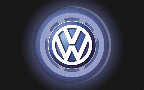 Vw Logo Wallpaper by Vw Logo Volkswagen Logo Wallpaper 3d Car Logos