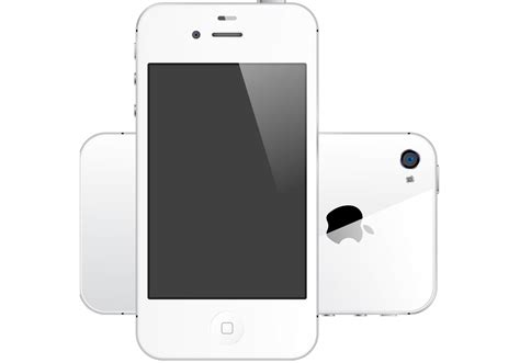 free on iphone iphone 4s white free vector free vector