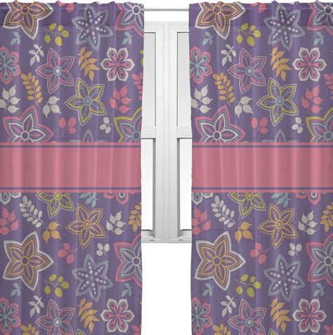 simple floral window sheer scarf valance personalized