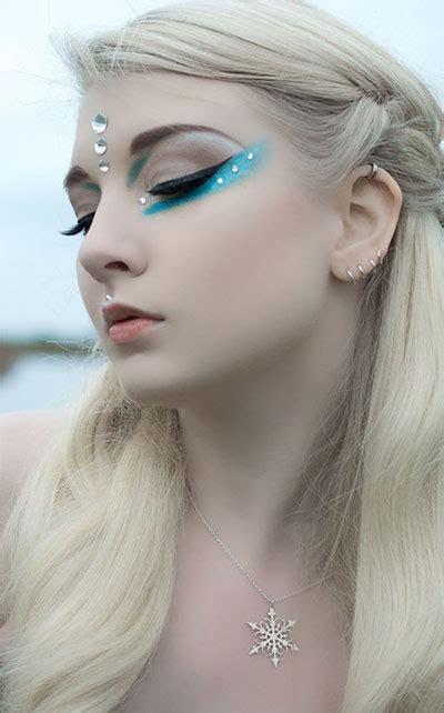 winter themed fantasy makeup  ideas  fairy makeup modern fashion blog