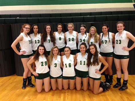 bishop feehan high school girls varsity volleyball fall photo