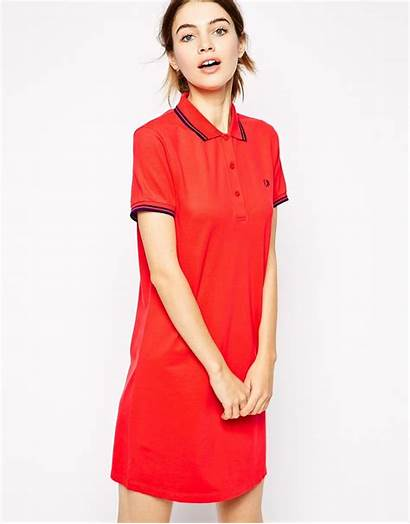Polo Shirt Fred Perry Pink Lyst Clothing