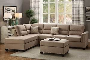 3pc sectional sofa couch set reversible chaise sofa with for 3pc sectional sofa set with ottoman