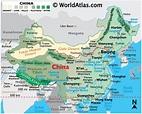 China Map / Geography of China / Map of China - Worldatlas.com