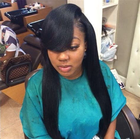 Side Part Sew In Hairstyles by Side Part Sewn In Sew In Hairstyles