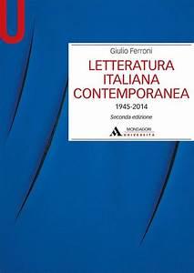 Libro Letteratura Italiana Contemporanea
