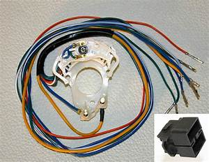 New  1966 Ford Mustang Turn Signal Switch Cam With Wire Harness Bronco Comet