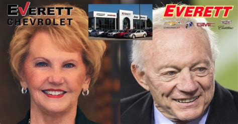 johnelle hunt jerry jones involved  everett automotive