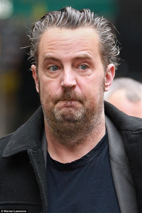 matthew perry steps   london  tired