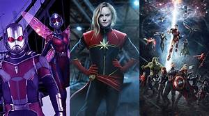 Production Timetables for Ant Man and the Wasp, Captain Marvel, and Avengers 4