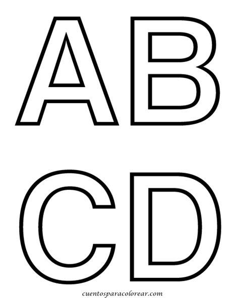 dibujos para colorear alfabeto y abecedario
