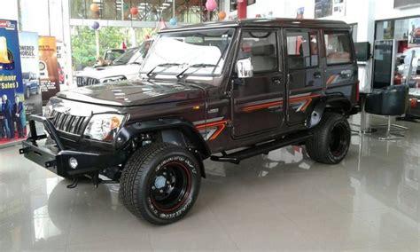 Modified Mahindra Bolero Captured At A Dealership In
