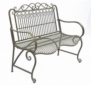 Gartenbank Metall 2 Sitzer : bank aus metall gartenbank jc150014 sitzbank parkbank 2 sitzer 110cm patina gr n kaufen bei ~ Indierocktalk.com Haus und Dekorationen