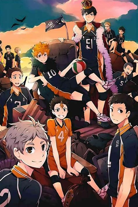 haikyuu anime poster uncle poster