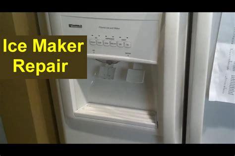 kitchenaid refrigerator kenmore coldspot refrigerator maker repair auger