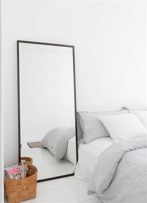 nice simple mirror   home minimal bedroom